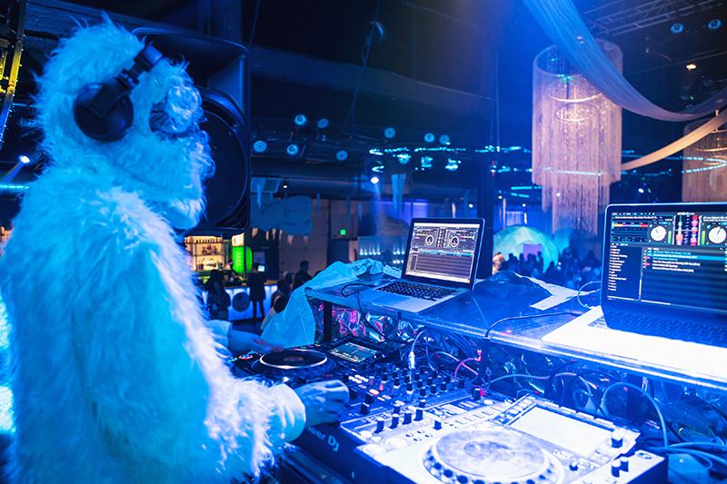 AmEx Inter[action] Yeti DJ